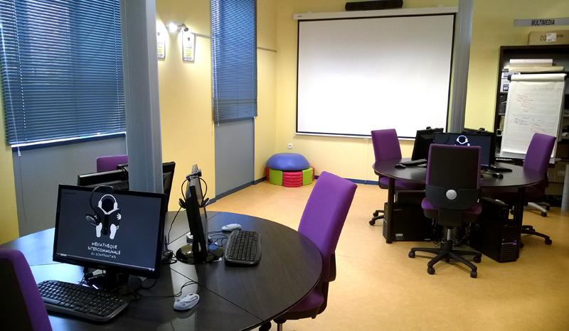 Espace Multimedia et Projection