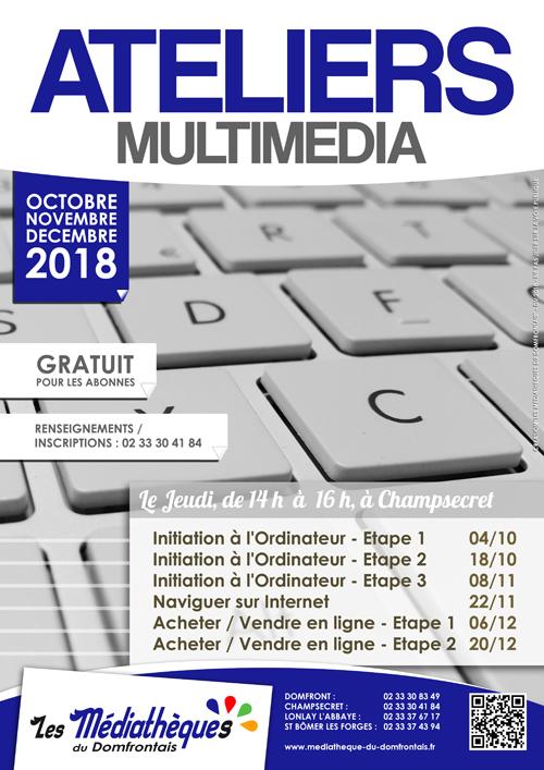 Ateliers Multimédia