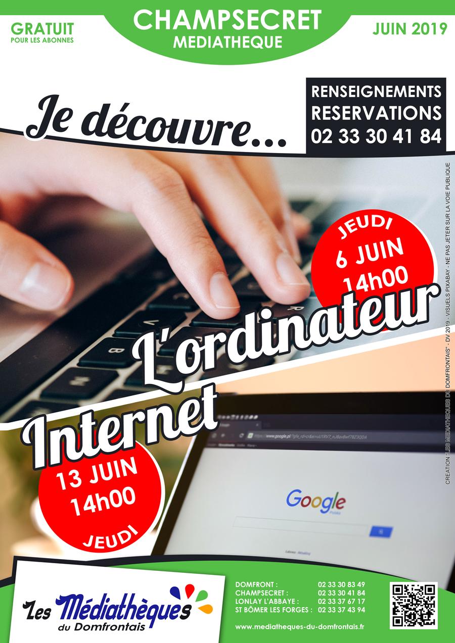 Ateliers Multimédia Juin 2019