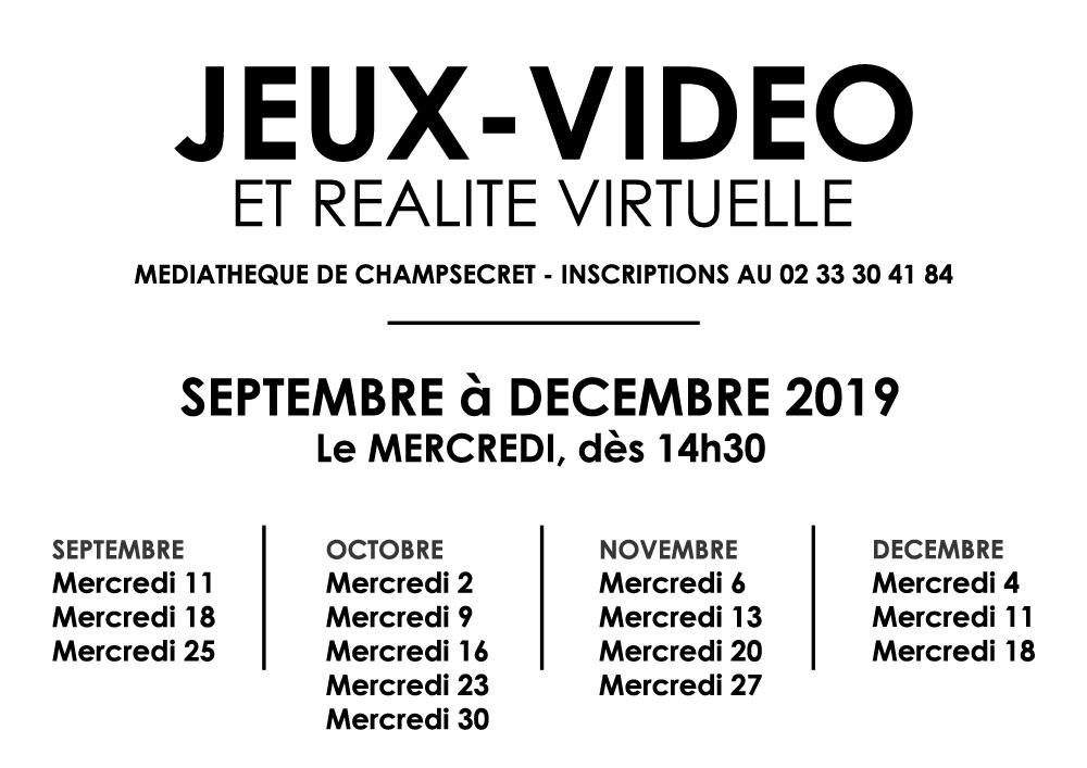 Jeux Vidéo Septembre 2019