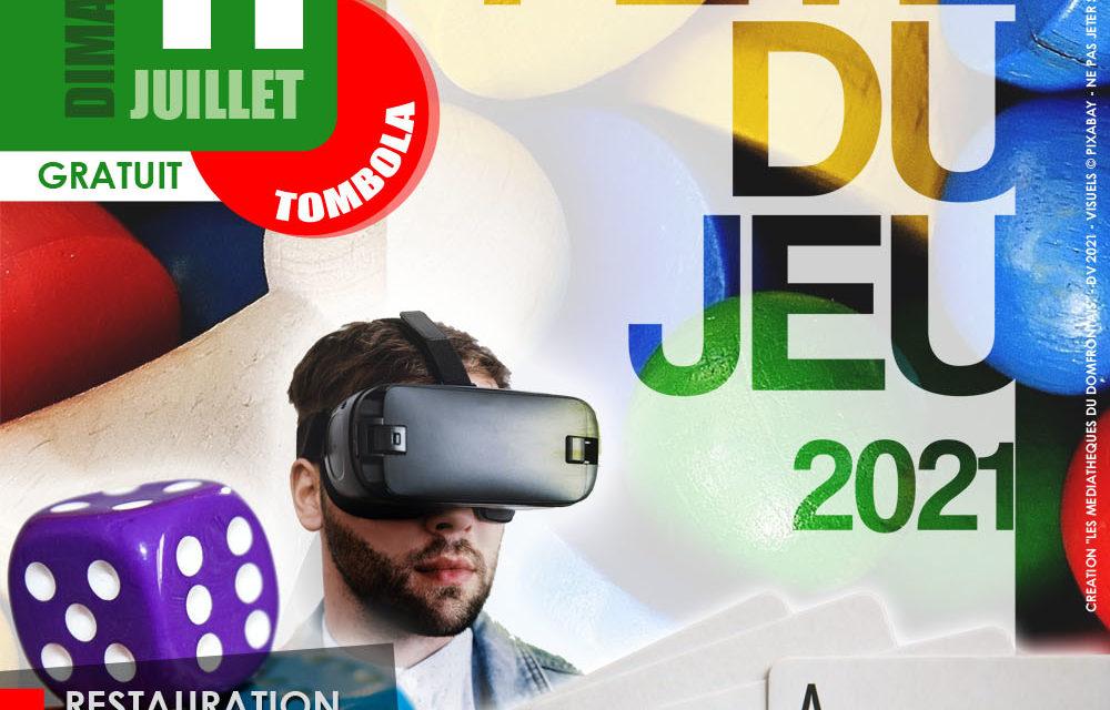 Fête du Jeu, à Champsecret le 11 juillet !